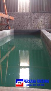 Foto 12. Kolam Proses Pembersihan Plat Baja