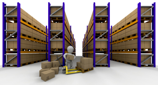 manajemen rak gudang